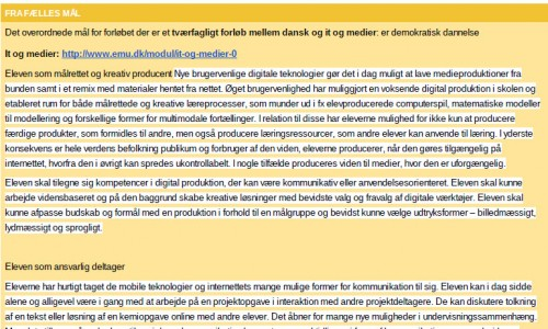 Blogskrivning – demokratisk dannelse for 4. klasse