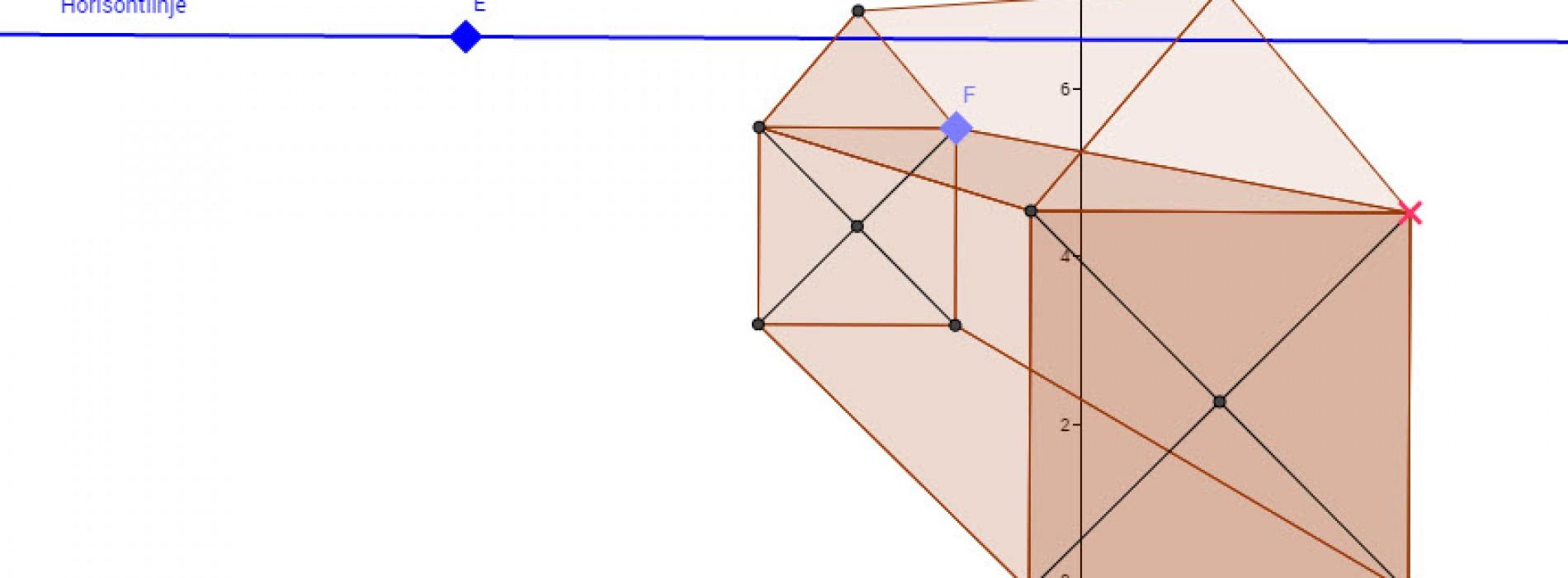 Dynamisk perspektivkasse – en konstruktion