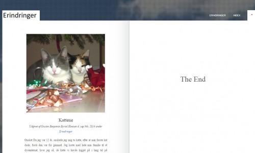 Elevernes erindringer samlet i en e-bog